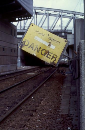 Danger @ Paris Gare du Nord 1994
