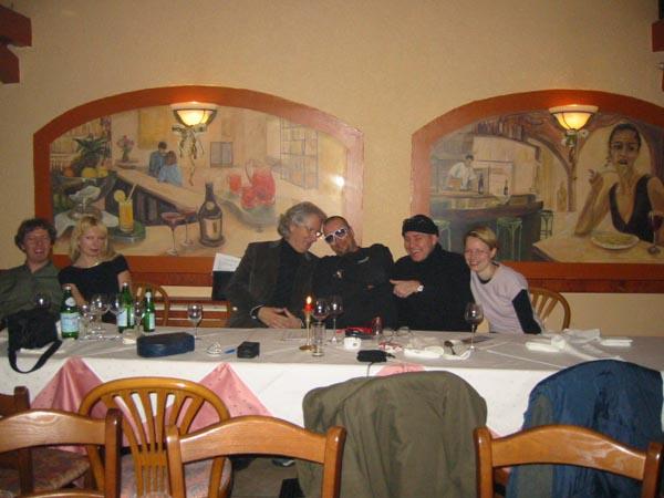 Cari Zaloni/CAZAL, DJ Back Q. Helge BOMBER Steinmann, Susi Reichert, Offenbach 2003
