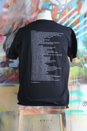 Bomber T-Shirt Black (booth side printed)