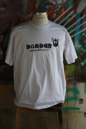 Bomber T-Shirt white