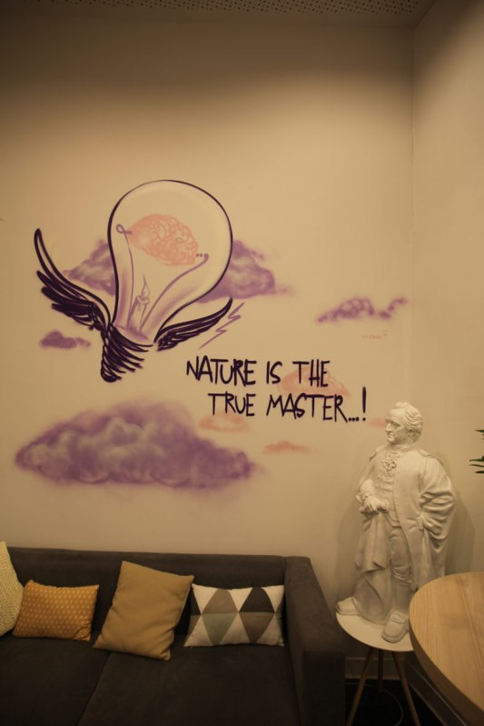 Nature is the master … Innside Ostend Hotel, Melia Group, Frankfurt 2018