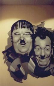 Oliver Hardy & Stan Laurel, Kinopolis Main-Taunus-Zentrum MTZ, Frankfurt-Sulzbach 1994