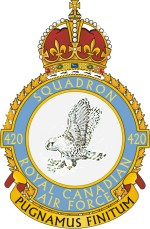 No. 420 (Snowy Owl) Squadron