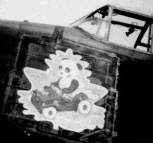 The Nose Art on Joe McCarthy's Lancasters