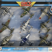 9 Piece Sky Wings Airplanes