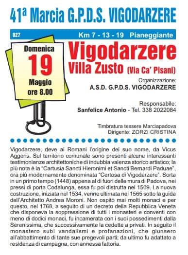 43a Marcia di Vigodarzere
