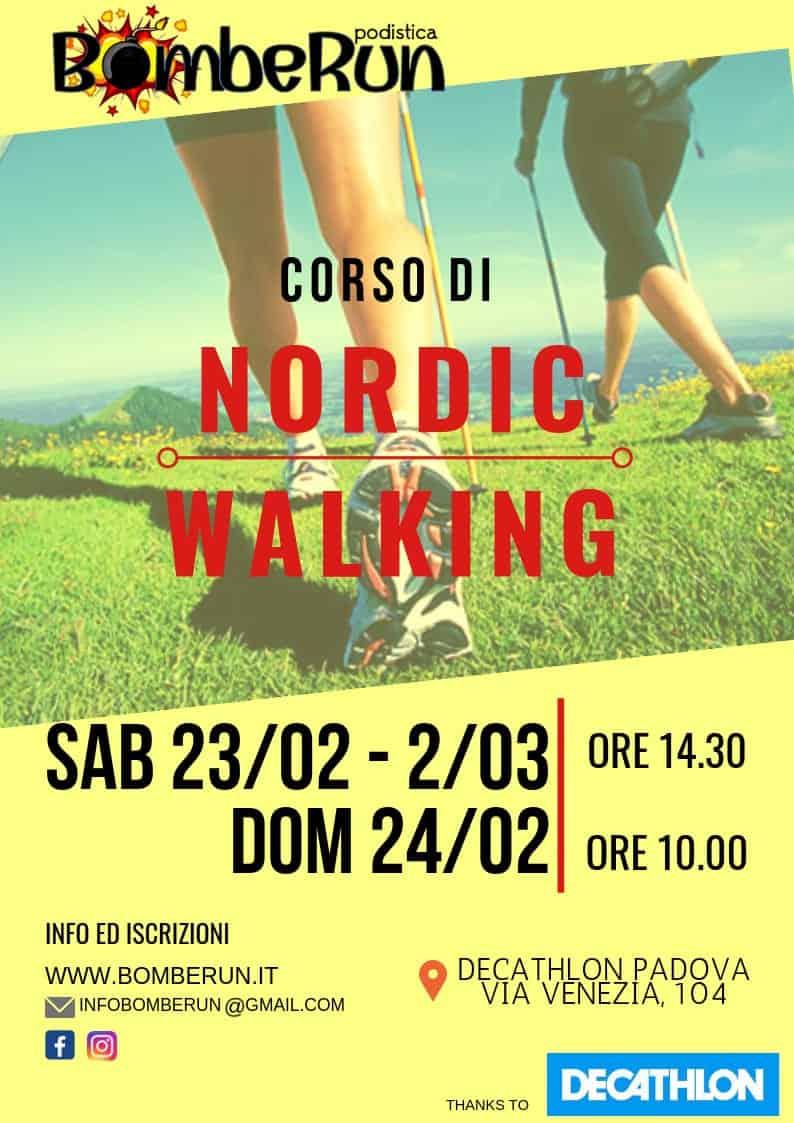 Corso Nordic Walking – modifiche orari