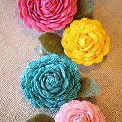 Rick Rack Flowers