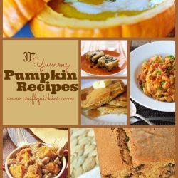 30+ Yummy Pumpkin Recipes for Fall