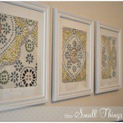 Napkin Wall Art