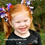 Halloween Firecracker Hairbows