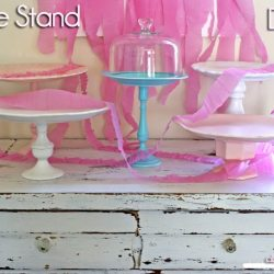Cake Stands Galore Thrifty DIY