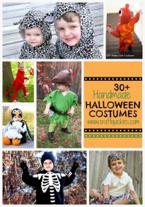 30+ Handmade Halloween Costumes from Craft Quickies