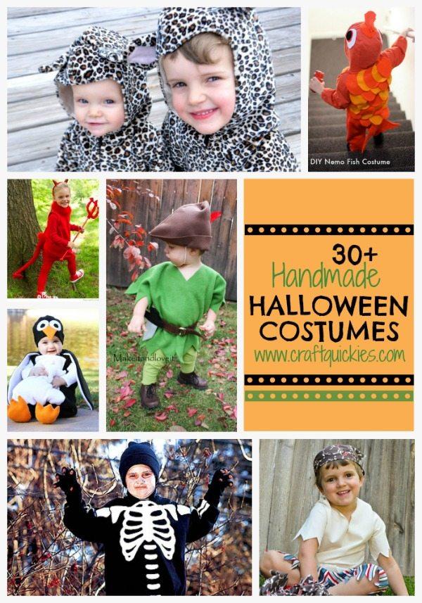 30+ Handmade Halloween Costumes from Craft Quickies