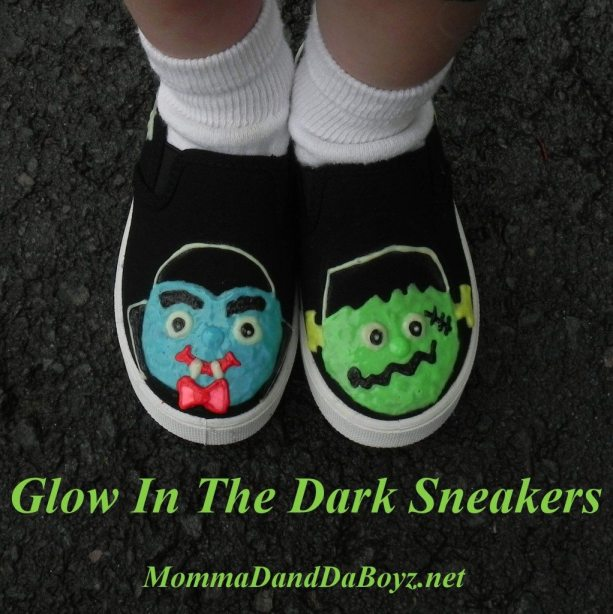 Glow in the Dark Sneakers