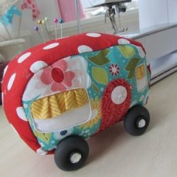 Vintage Trailer Pincushion