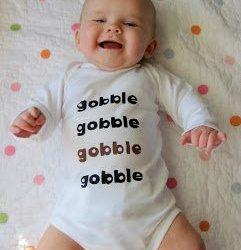 Gobble Gobble Onesie Tutorial