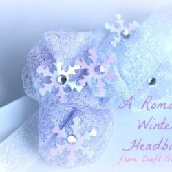 Let it Snow: A Romantic Winter Headband