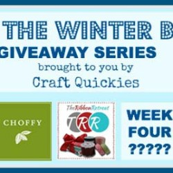 Beat the Winter Blues! Giveaway Series Week 3: A $25 Credit to The Ribbon Retreat
