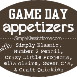 Game Day Appetizer Series!