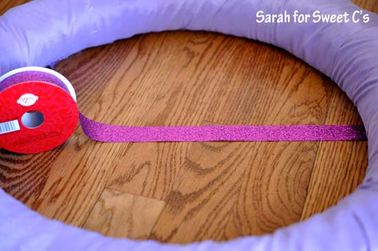 Flirty Pennant Banner Wreath 2