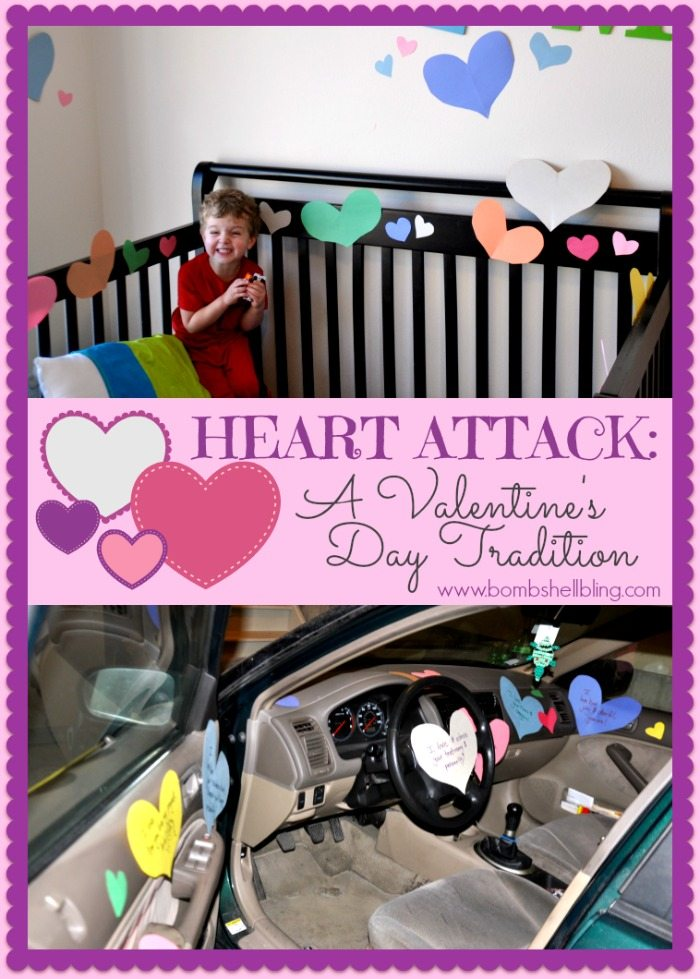 "Give someone that you love a ""Heart Attack"" this Valentine's Day! Valentine's day traditions can be simple but meaningful and this one is perfect the whole year through!"
