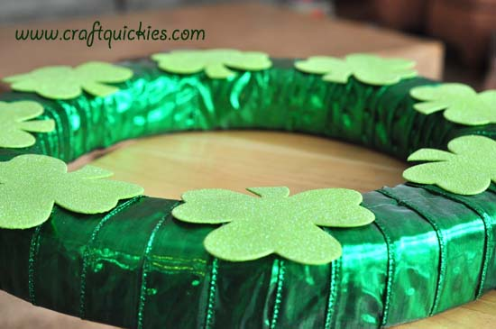 Lucky CLover Wreath 4