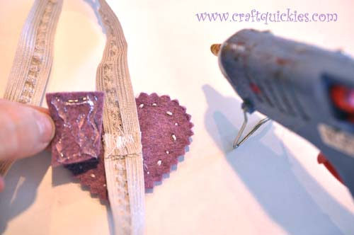 Romantic Stitched Wool Felt Headband13