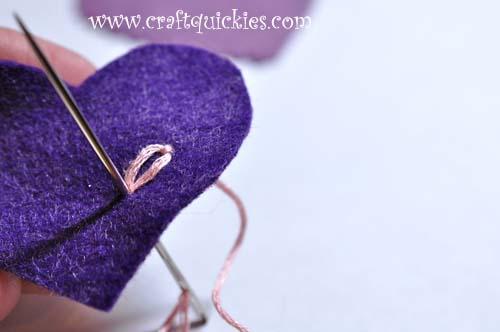 Romantic Stitched Wool Felt Headband8