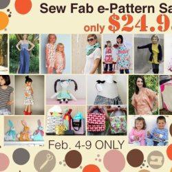 Sew Fab e-Pattern Sale