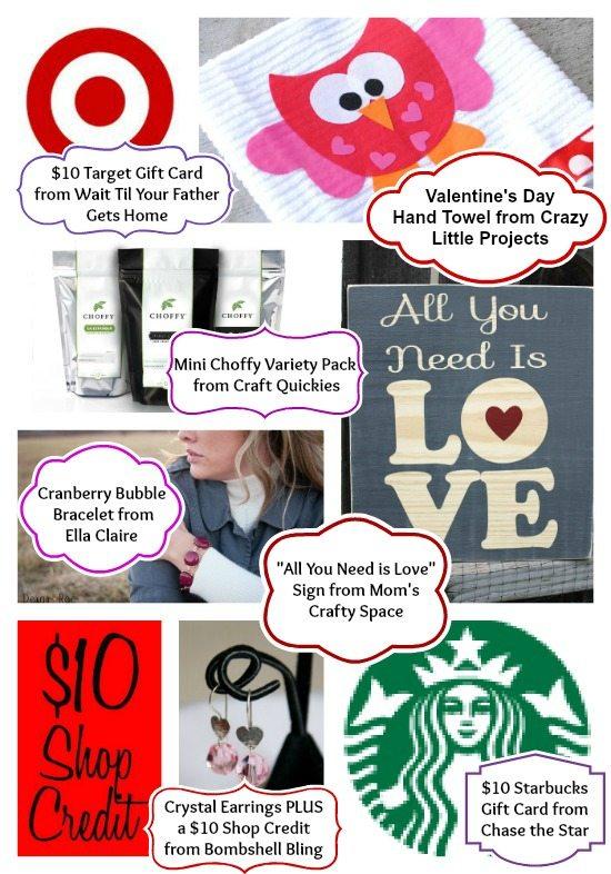 Valentine's Day Craft-Off Prizes