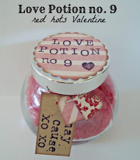 love potion number 9 red hots valentine BLOG