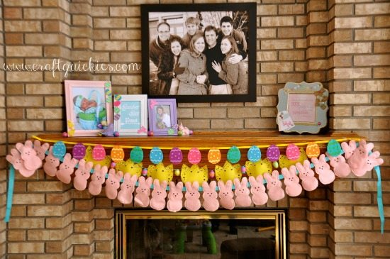 Easter Mantel by Craft Quickies