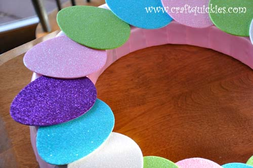 Hippity Hop Simple Easter Wreaths from Craft Quickies 3