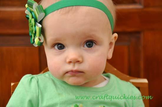 Lucky Charm Hair Bow 11