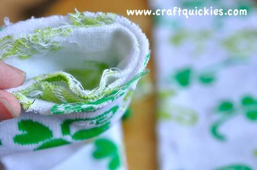 folding cut socks for baby leg warmers