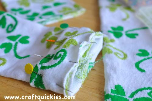 Lucky Legs - How to Make Baby Legwarmers from Craft Quickies7