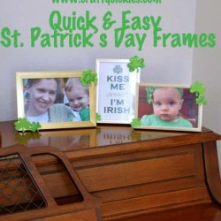 St. Patrick's Day in a Hurry: Frames
