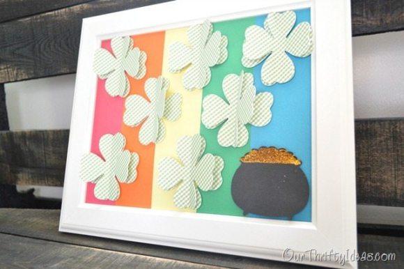 St Patricks Day Specimen Art