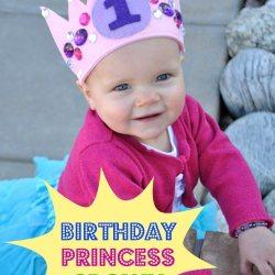 Birthday Princess Crown Tutorial