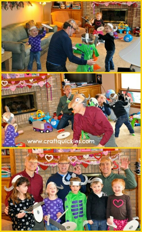 Cute, fun, and easy ideas for a How to Train Your Dragon birthday party!  #craftquickies