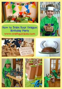 Check out this darling How to Train Your Dragon birthday party! Lots of cute, easy ideas!