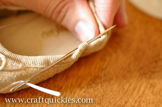 Baby Ballet Shoe Fix from Craft Quickies-3