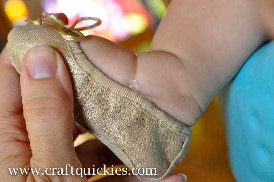 Baby Ballet Shoe Fix from Craft Quickies-6