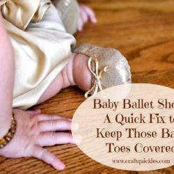 Baby Ballet Shoe Quick-Fix