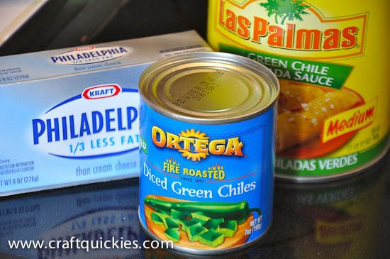 Green Chili Cream Cheese Enchiladas-1