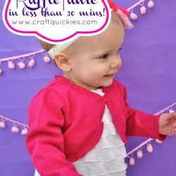How to Make a Ruffle Tunic in Less Than 30 Minutes