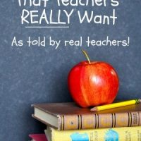 Teacher Gifts | The Top 5 Your Child's Teacher REALLY Wants to Receive