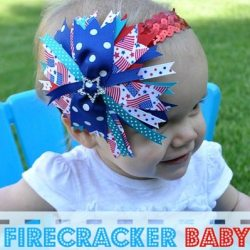 Firecracker Baby Headband
