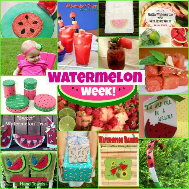 Watermelon Week!